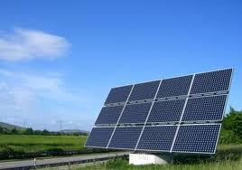 Panel solar en Cuba