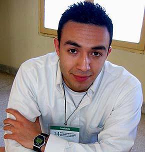 La imagen de Salim Lamrani fue tomada el sitio web Cubadebate