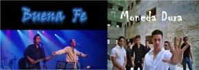 Dos de las bandas más emblemáticas de la juventud cubana: Buena Fe y Moneda Dura. Ambas con propuestas atrevidas, a tono con la juventud cubana de estos días.