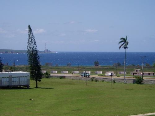 Esta es la vista que tendremos de Vía Blanca y la Bahía de Matanzas