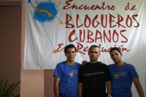 la joven Cuba en el Encuentro de Blogueros cubanos