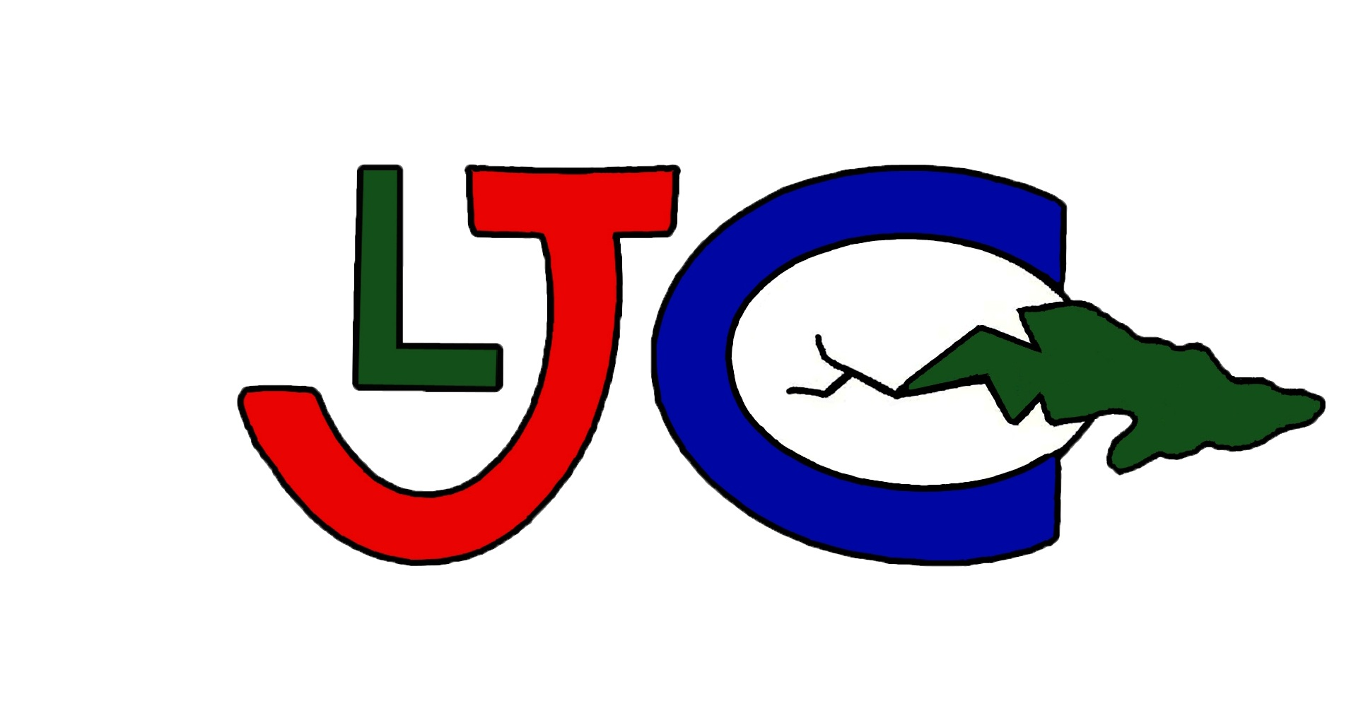 Logo original de LJC, diseñado por el Héroe de la República de Cuba Gerardo Hernández Nordelo desde una cárcel norteamericana.