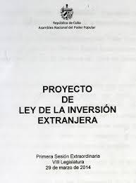 proyectoleyinversionextranjera