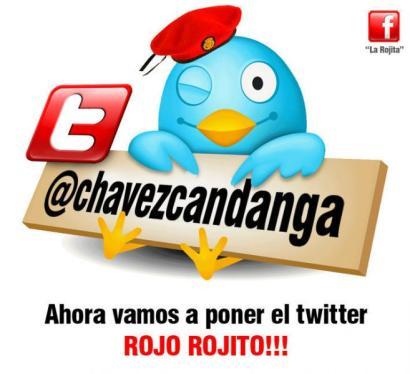 twitter hugo chavez