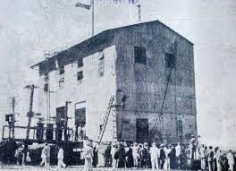 unica foto que se conserva de la planta termo marc3adtima referida al momento de su inauguracic3b3n 6 de octubre de 1930