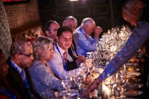 Breakout Dinner en Atlantic Dialogues. Foto: GMF