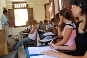 En nuestras aulas está hoy el futuro de Cuba