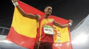 Orlando Ortega rechazó la bandera cubana para buscar la española ¿No debió levantar las dos?