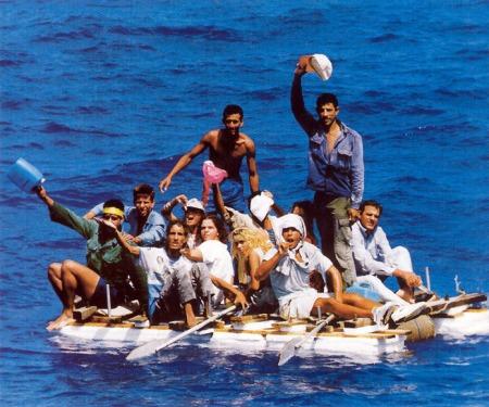 ¿Se lanzarían al mar los cubanos si corren el riesgo de ser deportados a Cuba por estar ilegal en los Estados Unidos? El tiempo lo dirá...